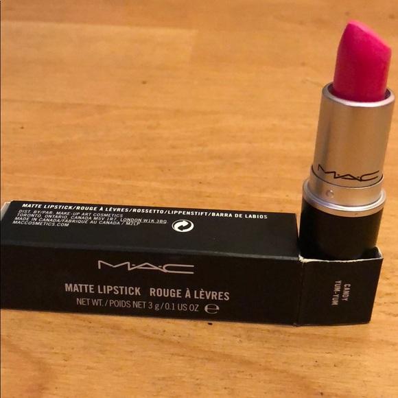 Mac Cosmetics Poshmark Yum MakeupMatte Candy Lipstick TZuOXPki
